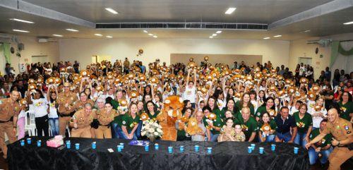 Proerd forma 156 alunos em Nova Aurora