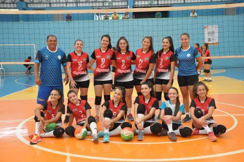 Voleibol de Nova Aurora volta a competir pela Copa Talentos em Ação