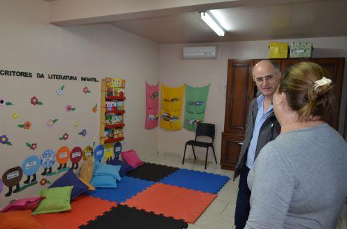 Prefeito Faz Visita a Escola e Clínica da Mulher