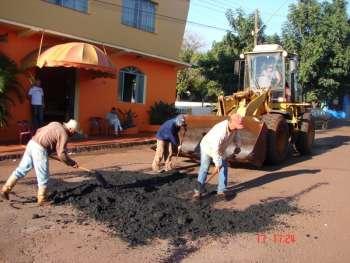 Município promove operação tapa buracos