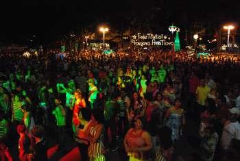 População comemora virada do ano em Nova Aurora
