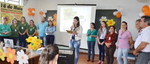 Assistência Social realiza palestra sobre o combate ao abuso sexual de criança e adolescente