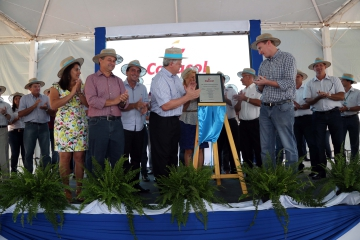 Cooperativa inaugura Unidade de Produção de Alevinos
