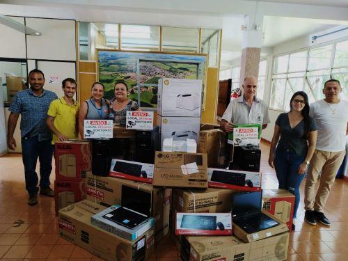 Nova Aurora investe R$ 40 mil em equipamentos ao CRAS, Projeto Piá e Casa Lar