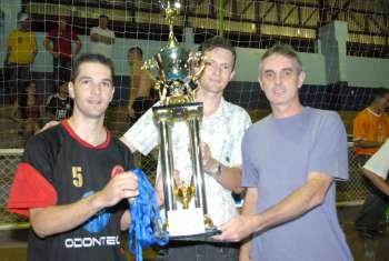 Odontec é campeão do campeonato municipal de futsal
