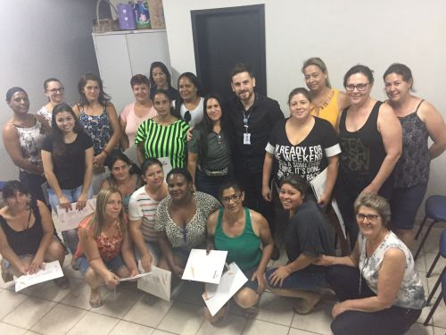 Aulas para  Cuidador Social iniciou nessa semana