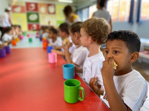 Aula de Educação Nutricional: Criando Bons Hábitos