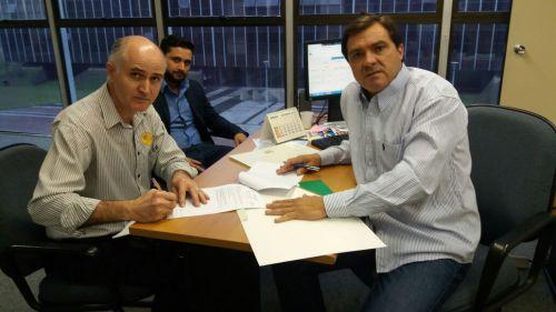 Prefeito Pedro assina convênios e financiamentos em Curitiba para diversas áreas de Nova Aurora