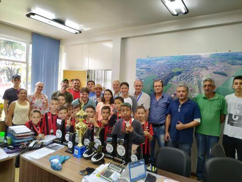 Categorias de Base do futsal faturam 10 troféus na Copa Talentos em Ação neste ano de 2019