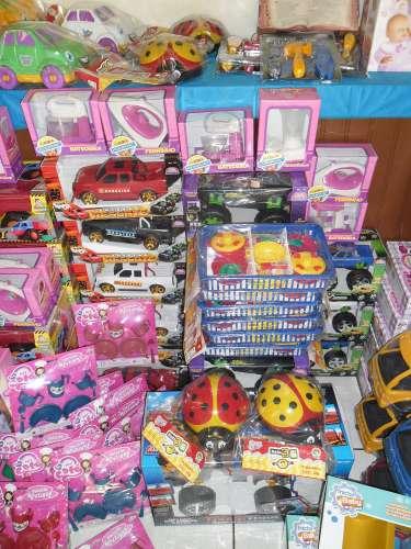 Cemei Criança Feliz adquire brinquedos para as crianças