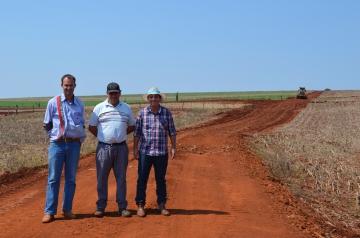 Readequação da Estrada Rural Michiriqueira