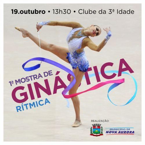Nova Aurora realiza Mostra regional de Ginástica Rítmica nesse sábado (19)