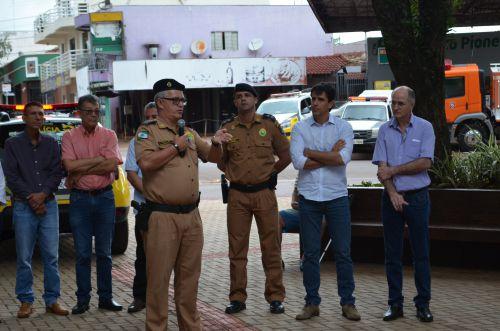 Entrega de Viatura Para Polícia Militar