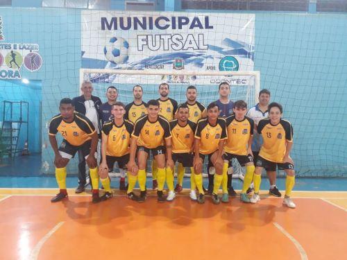 Futsal masculino adulto vence Jesuítas em casa e está classificado para as oitavas de finais da Copa Amop