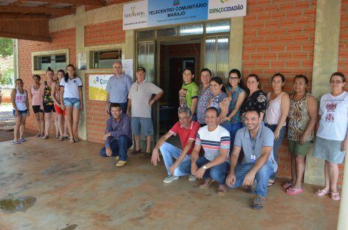 Município entrega Correios e Telecentro para o distrito de Marajó