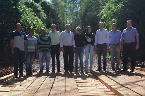 Inaugurada Ponte Que Faz a Ligação Nova Aurora x Cafelândia