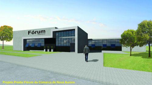 Tribunal de Justiça do Paraná anuncia construção de prédio do fórum da Comarca de Nova Aurora
