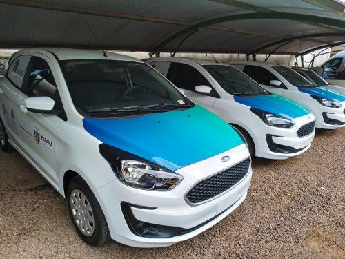 Saúde entrega três veículos às ESF nesta quarta-feira (20)