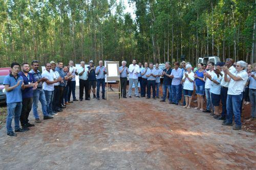 Nova Aurora, Copacol e Itaipu inauguram pavimentação poliédrica que dá acesso à UPA
