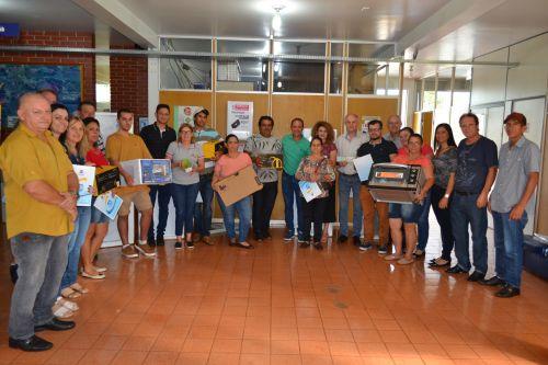 Município entrega prêmios do último sorteio de 2019 da Campanha Cidadão Bom de Nota e lança campanha de 2020