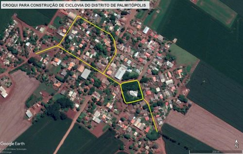 Nova Aurora licita ciclovia de Palmitópolis em maio