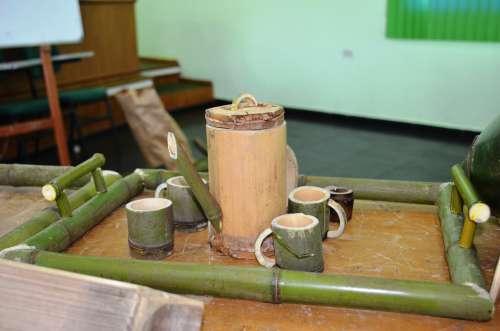 Curso de artesanato em bambu é realizado em Nova Aurora