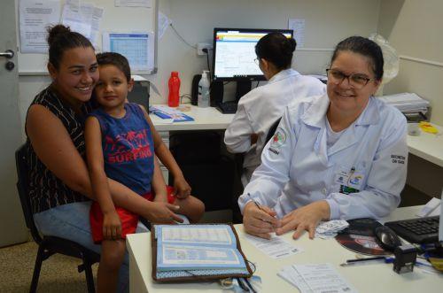 Posto de Saúde central abre em horário alternativo nesse sábado para realização das Declarações de Vacinas