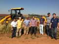 Pecinha acompanha obra de saneamento rural no Distrito de Marajó