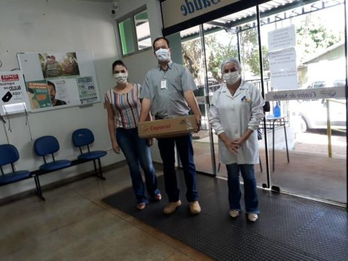 Copacol realiza entrega de 400 kits de EPI′s a secretaria de Saúde de Nova Aurora