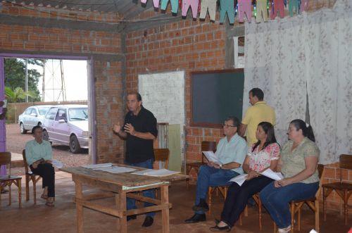 """Prefeito """"Pecinha"""" reuniu-se com moradores na Comunidade São Paulo"""