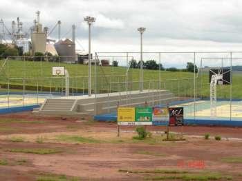 Primeira etapa do Centro Poliesportivo será entregue dia 26