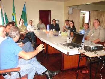 Reunião com comitiva do Município de Jesuítas