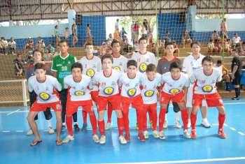 Futsal masculino e feminino de Nova Aurora está sendo representado em Corbélia neste final de semana