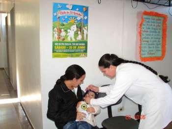 Vacinação contra aparalisia infantil acontece neste sábado dia 18