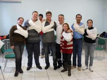 Alunos do ITDE de Nova Aurora passam por treinamento