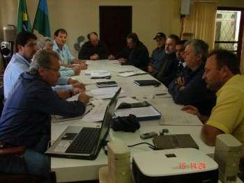 Durante reunião do conselho