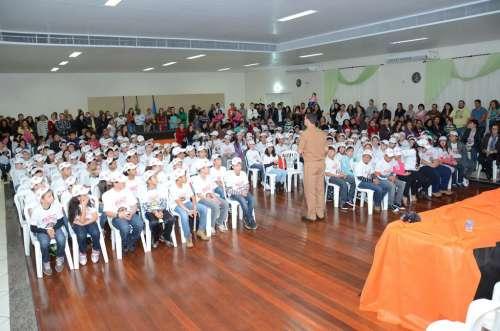146 ALUNOS SÃO FORMADOS NO PROERD EM NOVA AURORA