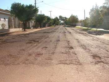 Diversas ruas de Nova Aurora serão recapadas nos próximos dias