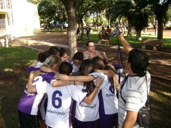 Futsal feminino de Nova Aurora é campeã no Jocop's
