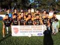 Beto Miaki Futebol Clube, equipe campeã do 1º Campeonato Municipal de Futebol Suíço Livre