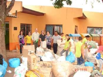 Escola Eugênio Mezzon desenvolve projeto ambiental