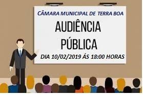 Audiência pública 10/02/2020