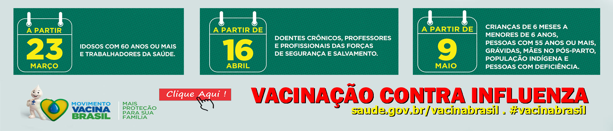 Campanha de Vacina Influenza