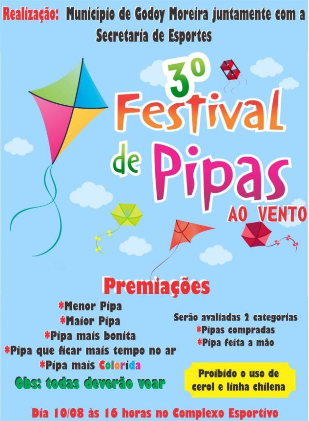 3º FESTIVAL DE PIPAS