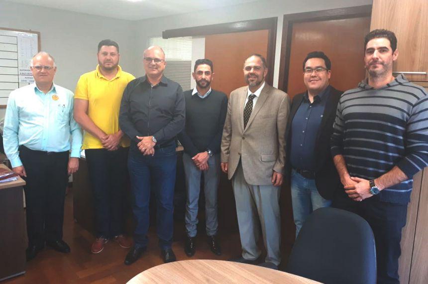 PREFEITO JOSÉ GONÇALVES PARTICIPA DE AUDIÊNCIAS EM CURITIBA