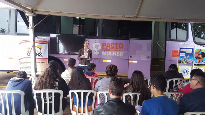 DEPARTAMENTO DO CREAS DE GODOY MOREIRA FAZ AGRADECIMENTO