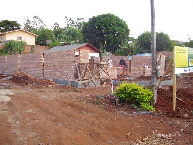 Godoy Moreira da inicio � obra de Constru��o da Casa da Cultura