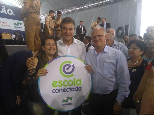 Prefeito de Godoy Moreira participa de Eventos em Curitiba