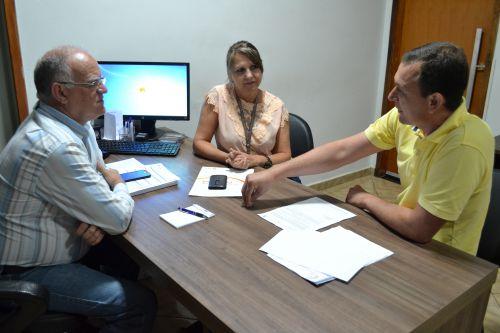 GERENTE REGIONAL DA COPEL VISITA PREFEITO
