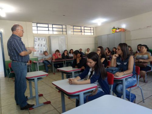 REUNIÃO PEDAGÓGICA DA SECRETARIA DE EDUCAÇÃO É REALIZADO EM GODOY MOREIRA